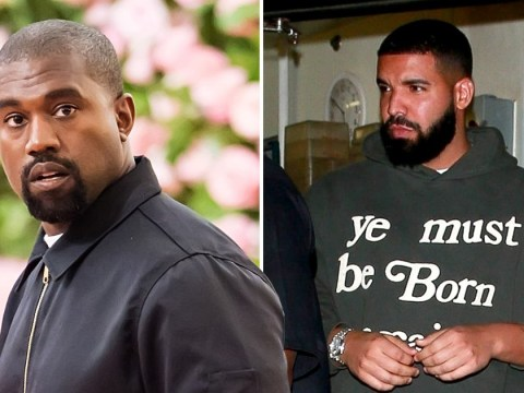 Drake wears Kanye West-inspired sweatshirt amid ongoing feud between the two