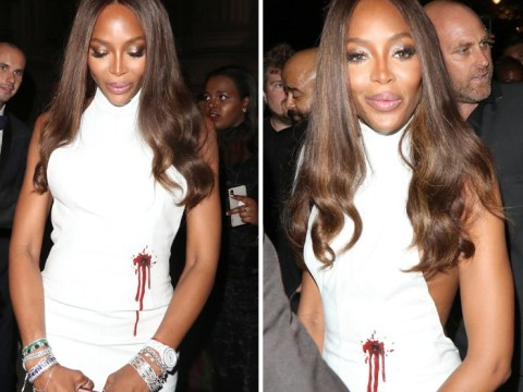 Designer says Naomi Campbell's bullet hole dress shows black people are 'seen as a walking target'