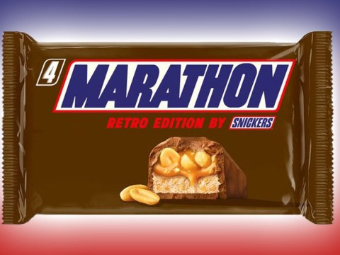 Why is Snickers changing its name back to Marathon and where can you buy the bars?