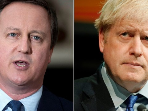 David Cameron says Boris Johnson only backed Leave to further his career