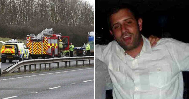 Stephen Robinson, right, admitted causing death by careless driving (Picture: NCJ Media)