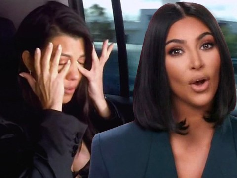 Kim Kardashian makes Kourtney cry after 'biggest fight' as rivalry gets nasty: 'You're really a miserable human being'