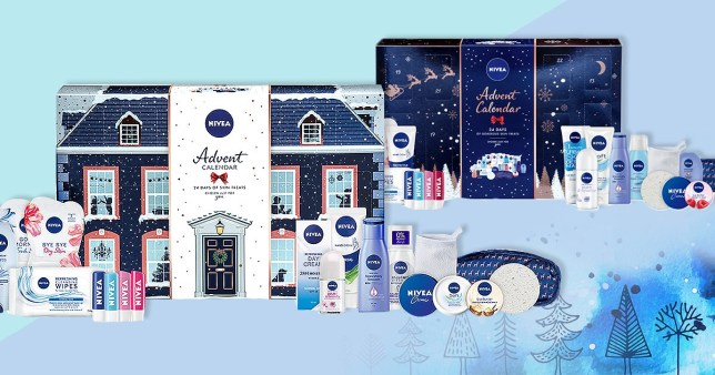 nivea launches two advent calendars so you can pamper your. Black Bedroom Furniture Sets. Home Design Ideas