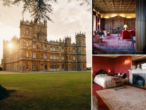 Downton Abbey fans can stay in Highclere Castle as luxury room goes on Airbnb