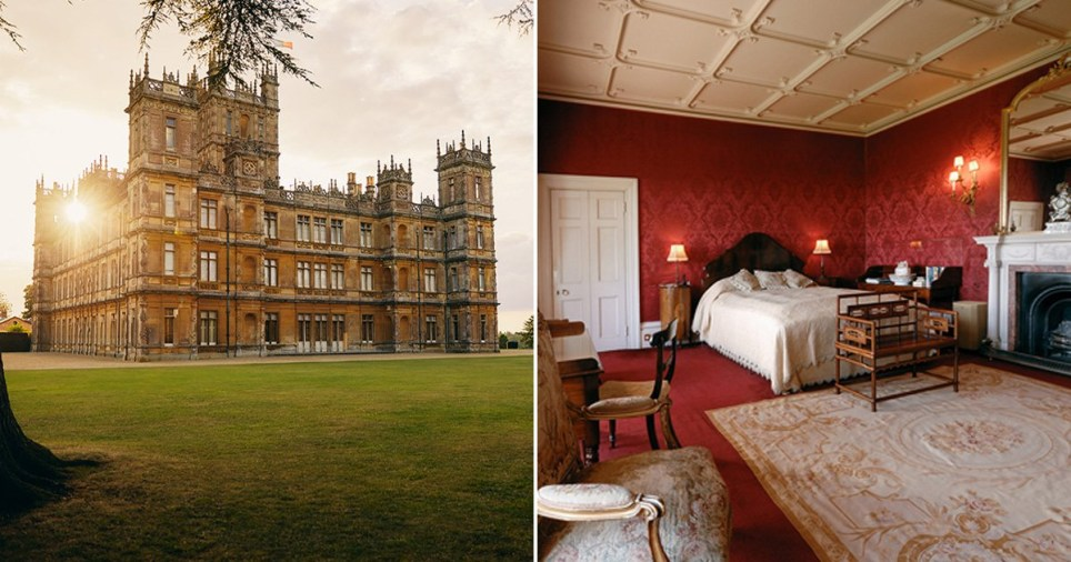 Downton Abbey is on Airbnb