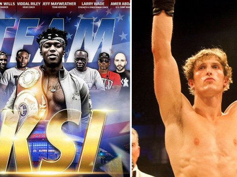 KSI unveils boxing training team as he throws shade at wrong Logan Paul ahead of rematch