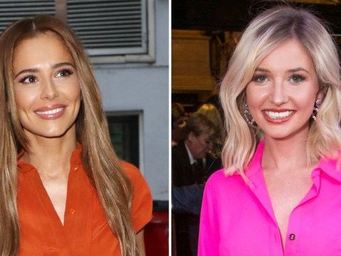 Cheryl beams alongside Love Island's Amy Hart at star-studded Big The Musical gala