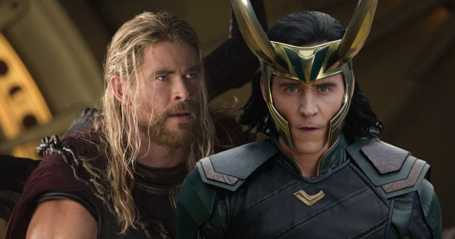 Thor and Loki in Avengers