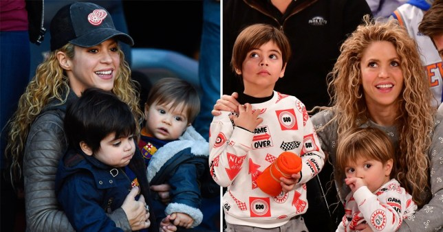 Shakira Can Go Over A Month Without Seeing Her Sons Thanks To Schedule Metro News