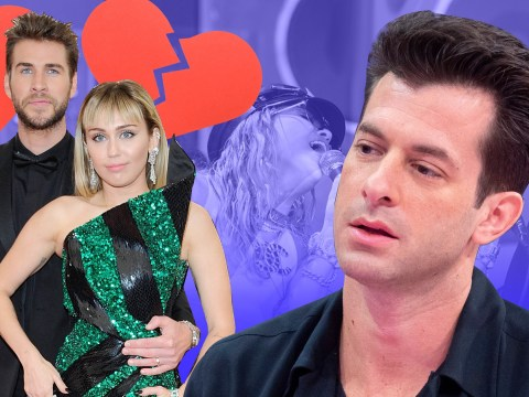 Mark Ronson squirms as he's asked about Miley Cyrus split in awkward interview