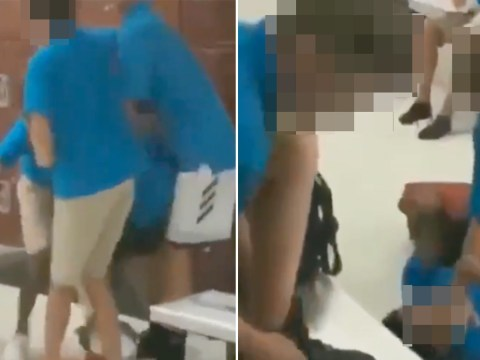 Outrage over footage of black boy being beaten by three white boys