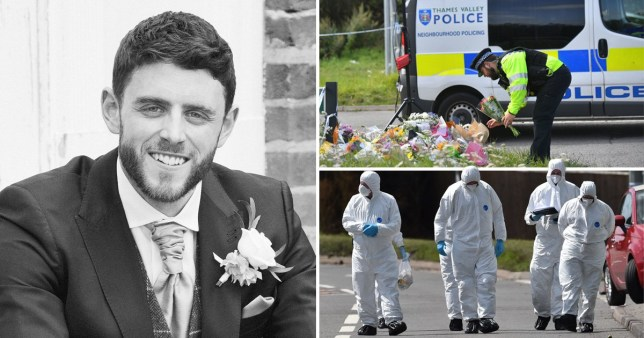Murdered PC Andrew Harper and pictures of crime scene