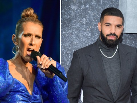 Celine Dion begging Drake not to get a tattoo of her face is something we never expected to see