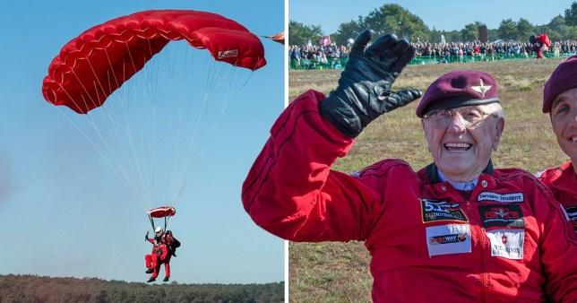 parachute jump for Arnhem