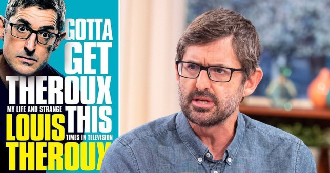 Louis Theroux hilariously calls out Amazon for removing his five star review of his own book