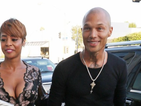 Jeremy Meeks enjoys dinner with Erica Peeples despite insisting he is still with Chloe Green