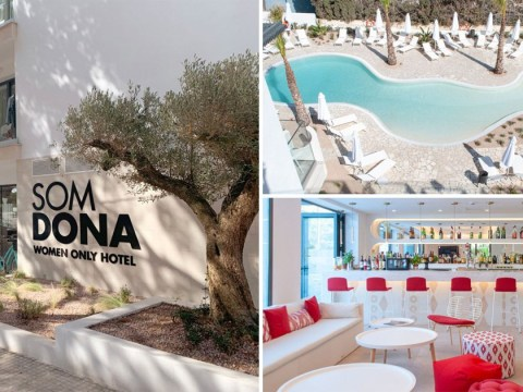 Grab your girlfriends, this stunning Spanish resort has a 'no men allowed' policy