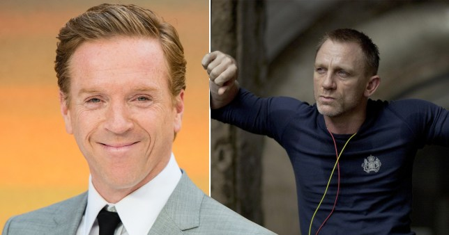 Damian Lewis and Daniel Craig as James Bond