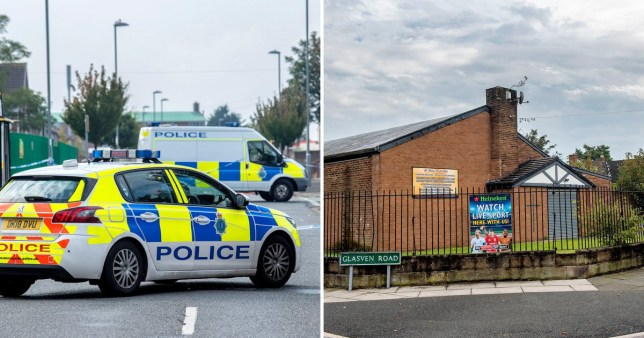 A woman was allegedly slashed in the face before a man was shot in Kirkby (Picture: Geoff Davies/Liverpool Echo)
