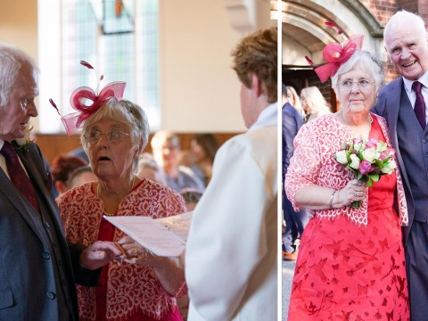 OAP couple who met in sheltered housing after losing their partners tie the knot