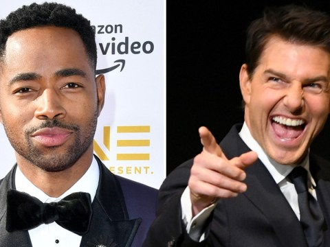 Tom Cruise is someone with a 'very strong point of view' says Top Gun star Jay Ellis