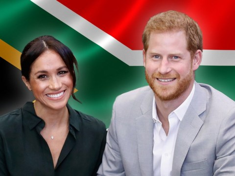 Meghan and Harry land in South Africa with Archie after commercial flight