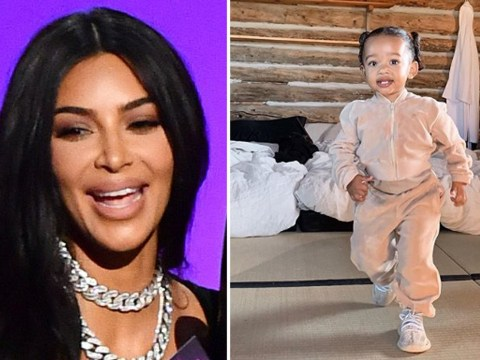 Kim Kardashian ignores Emmy drama as she shares adorable snap of daughter Chicago
