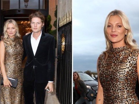Kate Moss proves she's still a supermodel legend srriving at Paris Fashion Week