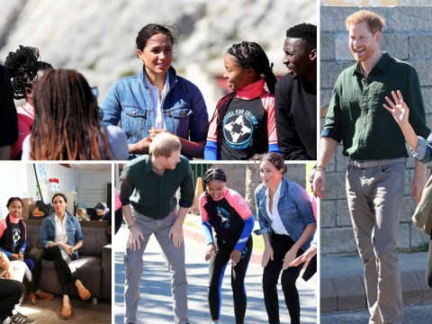 Meghan describes Harry as the 'best dad' during beach visit in South Africa