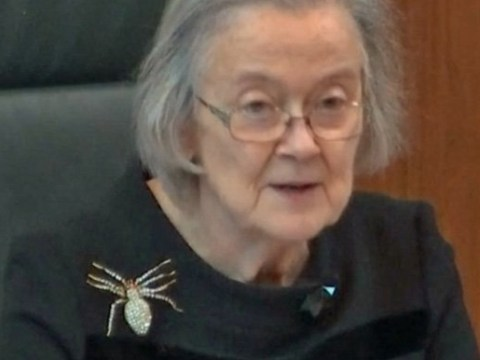 'Weaver of destiny'? Lady Hale's spider brooch said it all