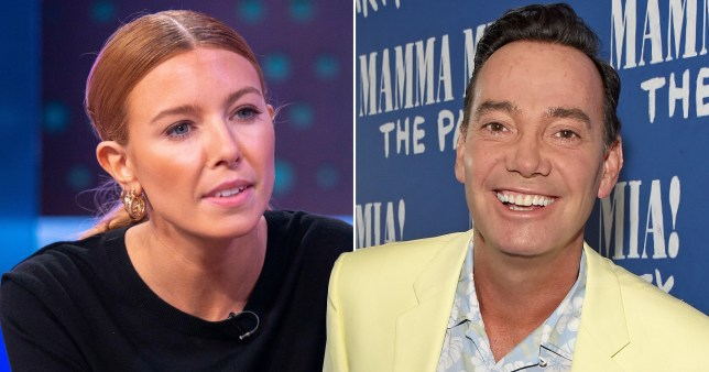 Craig Revel Horwood and Stacey Dooley