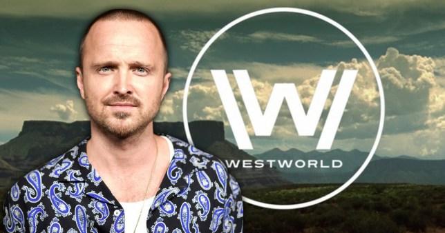 Aaron Paul is filming the Westworld seaosn3 finale