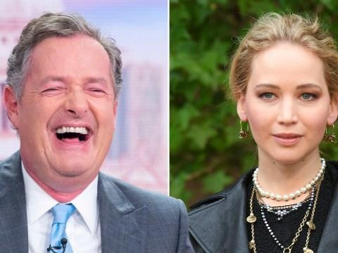 Piers Morgan ridicules Jennifer Lawrence over 'tacky' wedding registry wish-list on Amazon