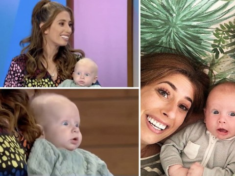 Stacey Solomon returns to Loose Women with adorable baby Rex in tow