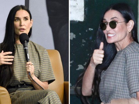 Demi Moore is all smiles after laying trauma bare in new memoir