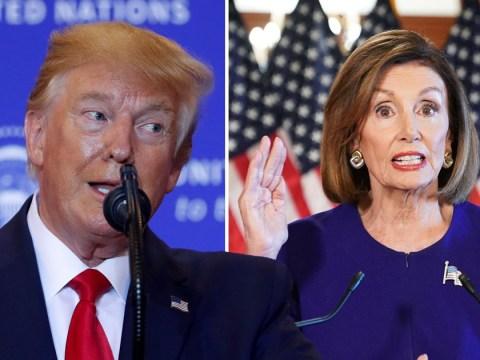Trump calls Democratic impeachment attempt 'a joke'