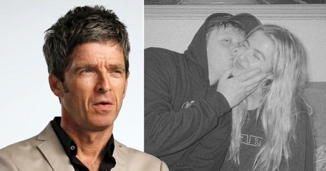 Noel Gallagher Lewis Capaldi Anais Gallagher
