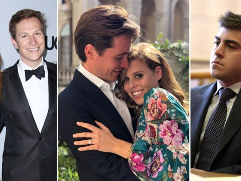 Who did Princess Beatrice date before she got engaged to Edoardo Mapelli Mozzi?