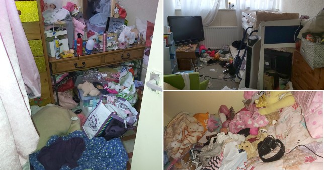 The lodgers left the home in a disgusting mess in Kinmel Bay, North East Wales