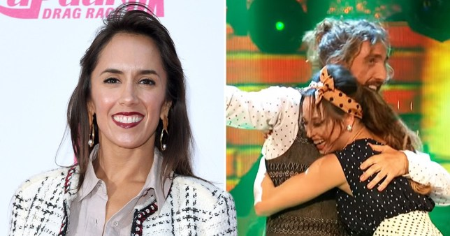 Strictly Come Dancing's Janette Manrara claims people overreacted to Seann Walsh and Katya Jones' kiss