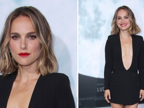 Natalie Portman serves us LBD glamour as she opens up on return to MCU