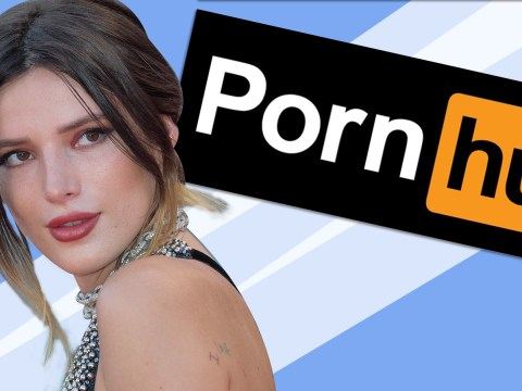 Bella Thorne honoured by Pornhub for her adult film directorial debut