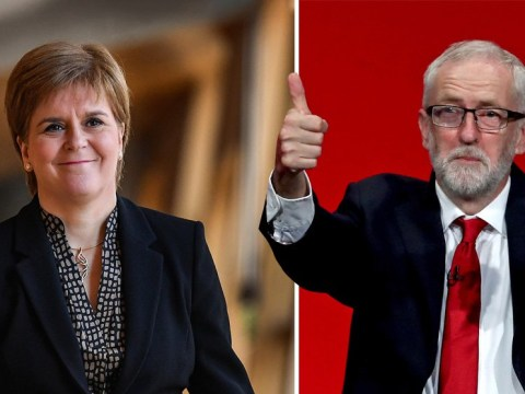Corbyn gets backing as caretaker Prime Minister from SNP