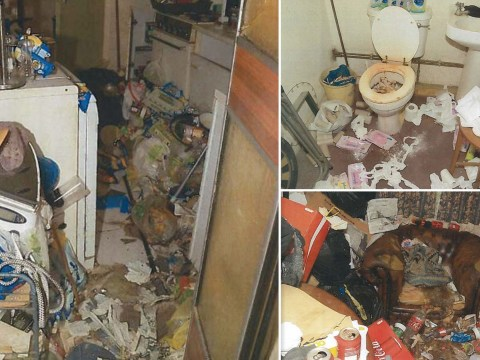 Inside disgusting home where husband killed wife by neglect after leaving her to rot in chair