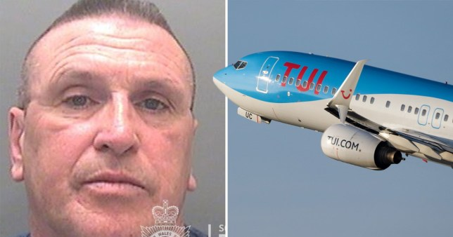 Michael Bisgrove and picture of TUI jet plane