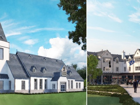 First images of new 550-home Trump estate to be built in Scotland