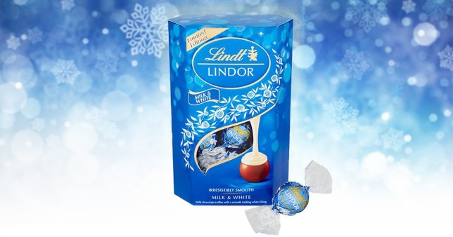 Lindt Is Launching Milk Chocolate Lindor With White Centre