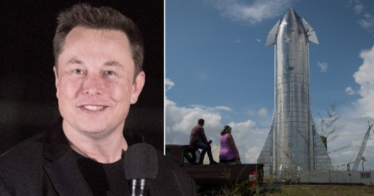 Elon Musk Shows Off Starship Rocket That Will Carry Explorers To Mars Metro News