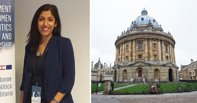 Aisha Ali Khan is a History and English teacher and says she was 'shocked by the comments'