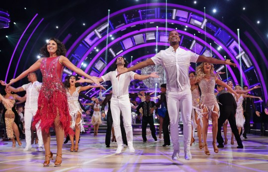 The Strictly Come Dancing 2019 intake